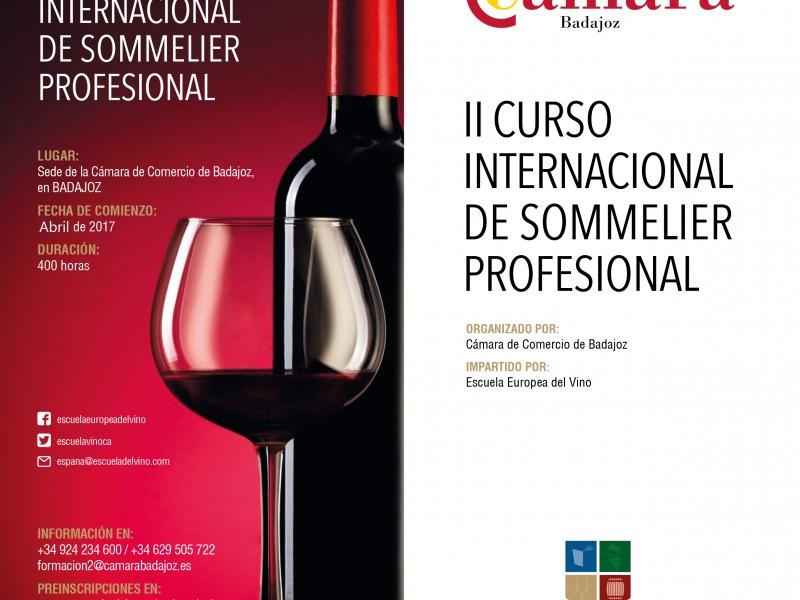 II CURSO INTERNACIONAL DE SOMMELIER PROFESIONAL