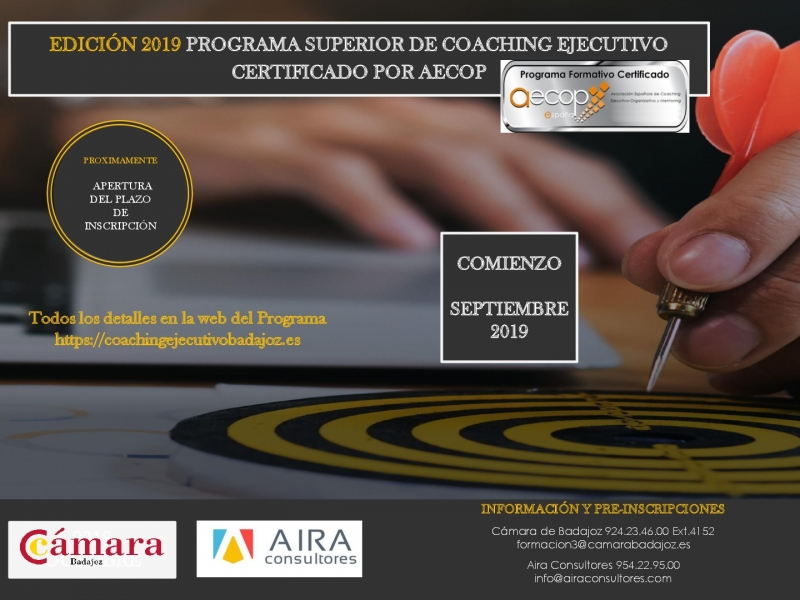 PROGRAMA SUPERIOR DE COACHING EJECUTIVO