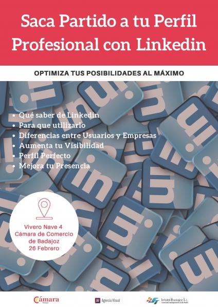 Saca Partido a tu Perfil Profesional con Linkedin