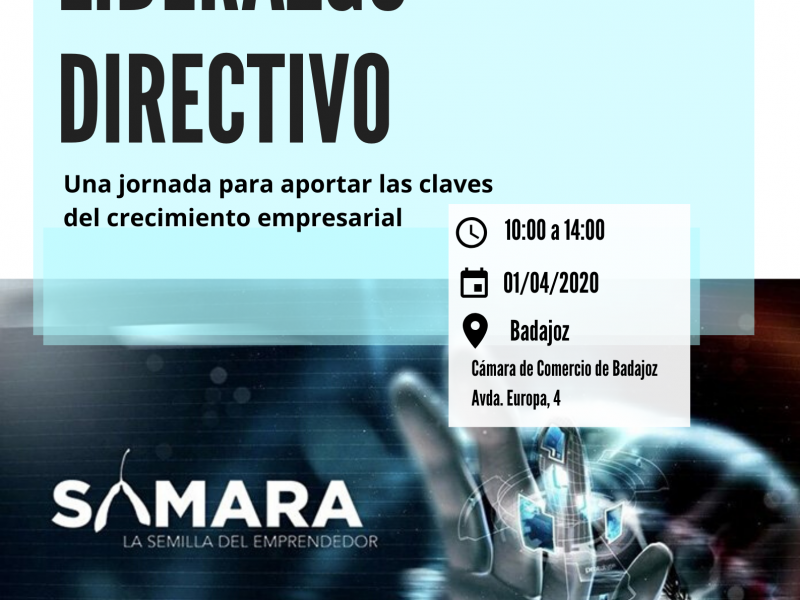 BADAJOZ- Jornada formativa: COACHING Y LIDERAZGO DIRECTIVO