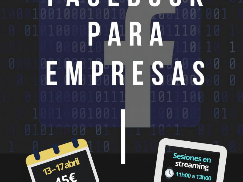 Taller Online: FACEBOOK PARA EMPRESAS